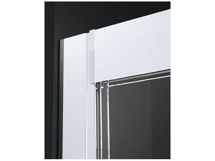 Novellini Kali R kabina prysznicowa półokrągła asymetryczna 80x90 cm KALIR80901B Niestandardowa Wysokość 195 cm Narożna Rodzaj drzwi Rozsuwane Kategoria Kabiny prysznicowe