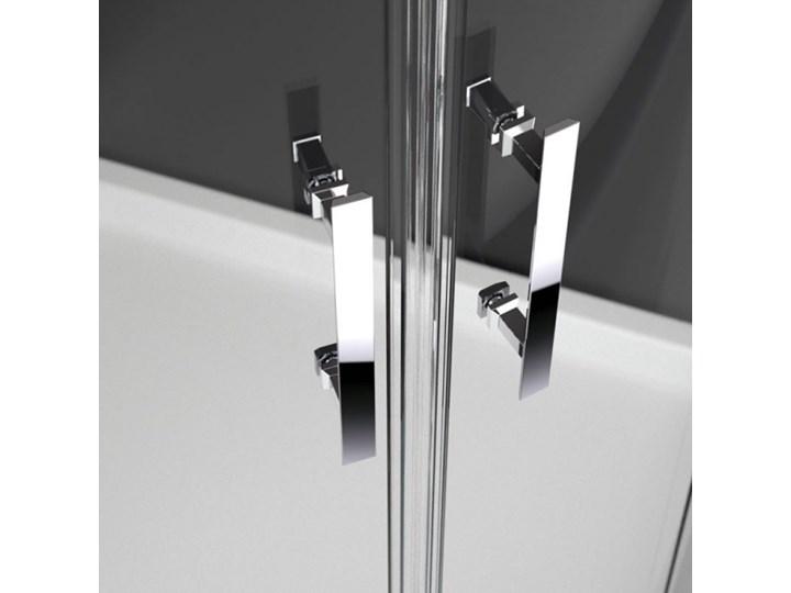 Novellini Kali R kabina prysznicowa półokrągła asymetryczna 80x90 cm KALIR80901B Narożna Wysokość 195 cm Kategoria Kabiny prysznicowe Niestandardowa Rodzaj drzwi Rozsuwane