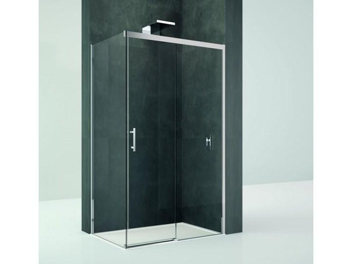 Novellini Kali PH+FH kabina prysznicowa prostokątna 120x80 cm KALIPH1161B+KALIFH781B Wysokość 195 cm Rodzaj drzwi Rozsuwane