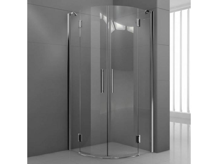 Novellini Modus R kabina prysznicowa półokrągła 80 cm MODUSR801K Narożna Rodzaj drzwi Uchylne
