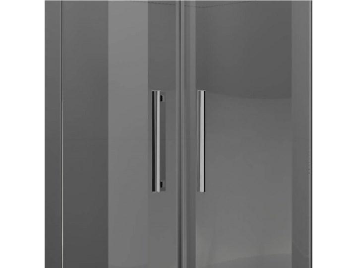 Novellini Modus R kabina prysznicowa półokrągła 80 cm MODUSR801K Narożna Kategoria Kabiny prysznicowe Rodzaj drzwi Uchylne