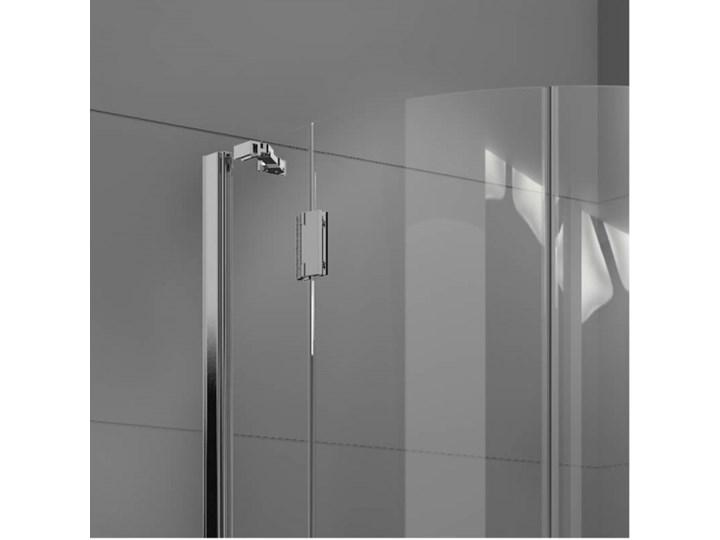 Novellini Modus R kabina prysznicowa półokrągła 80 cm MODUSR801K Rodzaj drzwi Uchylne Narożna Kategoria Kabiny prysznicowe