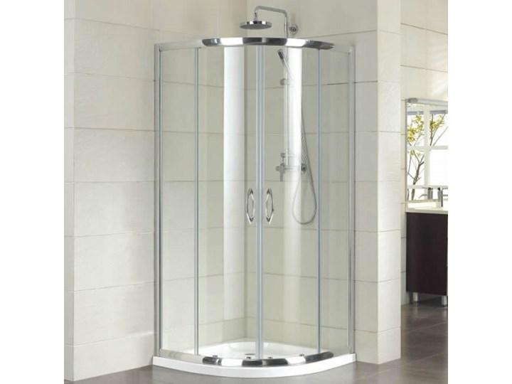 Kermi Acca kabina prysznicowa półokrągła 90 cm ACR5509019VPK Wysokość 190 cm Przyścienna Narożna Kategoria Kabiny prysznicowe