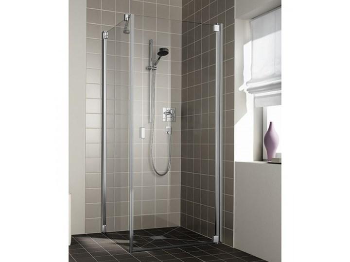 Kermi Raya kabina prysznicowa kwadratowa 80 cm prawa RA1KR08020VPK+RATOL08020VPK Rodzaj drzwi Uchylne Przyścienna Kategoria Kabiny prysznicowe