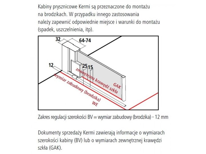 Kermi Raya kabina prysznicowa kwadratowa 90 cm lewa RA1KL09020VPK+RATOR09020VPK Przyścienna Kategoria Kabiny prysznicowe Rodzaj drzwi Uchylne