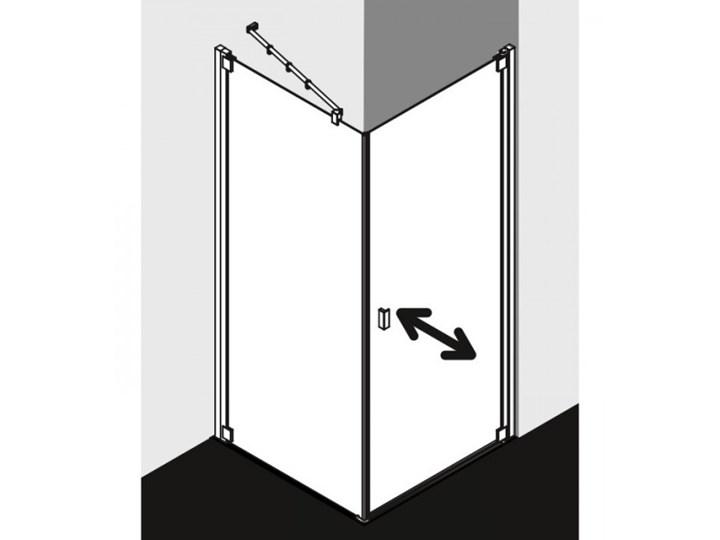 Kermi Raya kabina prysznicowa prostokątna 90x80 cm prawa RA1KR09020VPK+RATOL08020VPK Przyścienna Rodzaj drzwi Uchylne