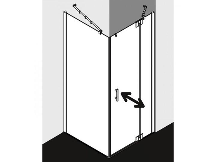 Kermi Filia XP kabina prysznicowa kwadratowa 80 cm prawa FX1WR08020VPK+FXTWD08020VPK Rodzaj drzwi Uchylne Przyścienna Kategoria Kabiny prysznicowe