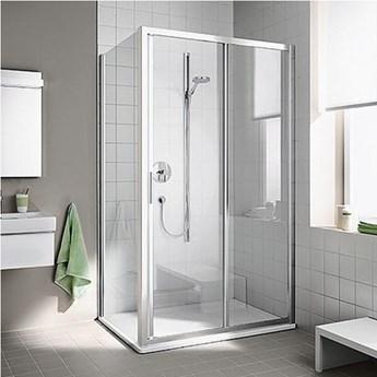 Kermi Cada XS kabina prysznicowa prostokątna 130x90 cm prawa CKG2R13020VPK+CKTWD09020VPK