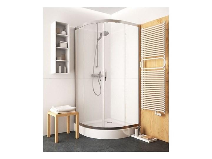 Koło Rekord kabina prysznicowa półokrągła 90 cm PKPG90222003 Wysokość 185 cm Narożna Kategoria Kabiny prysznicowe Rodzaj drzwi Rozsuwane