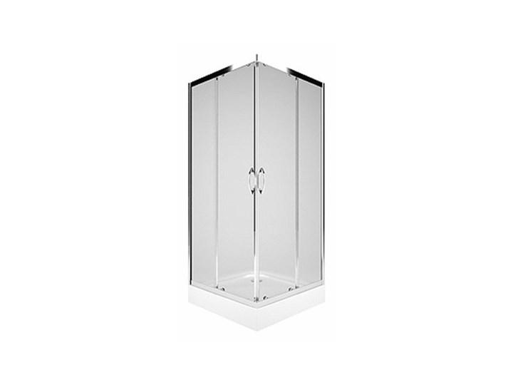 Koło Rekord kabina prysznicowa kwadratowa 80 cm PKDK80222003 Wysokość 185 cm Rodzaj drzwi Rozsuwane Kategoria Kabiny prysznicowe