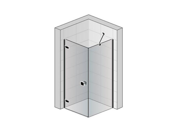 Sanswiss Annea kabina prysznicowa prostokątna 90x75 cm lewa AN1CG09005007+ANT07505007 Przyścienna Narożna Szerokość 90 cm Rodzaj drzwi Uchylne Wysokość 200 cm Kolor Przezroczysty