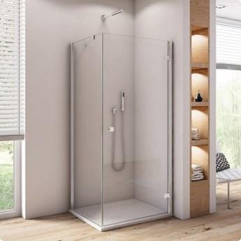 Sanswiss Annea kabina prysznicowa prostokątna 90x75 cm prawa AN1CD09005007+ANT07505007