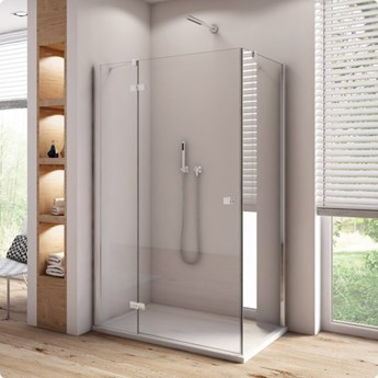 Sanswiss Annea kabina prysznicowa kwadratowa 75 cm lewa AN13G07505007+ANT07505007
