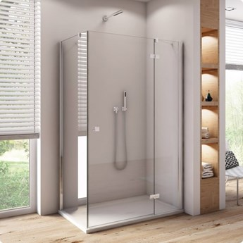 Sanswiss Annea kabina prysznicowa kwadratowa 80 cm prawa AN13D08005007+ANT108005007