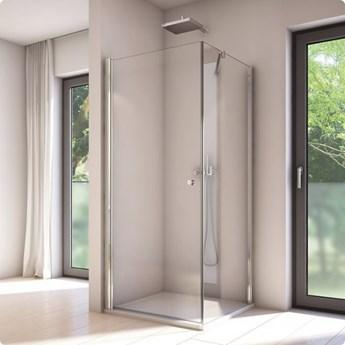 Sanswiss Solino kabina prysznicowa kwadratowa 100 cm SOL110005007+SOLT110005007