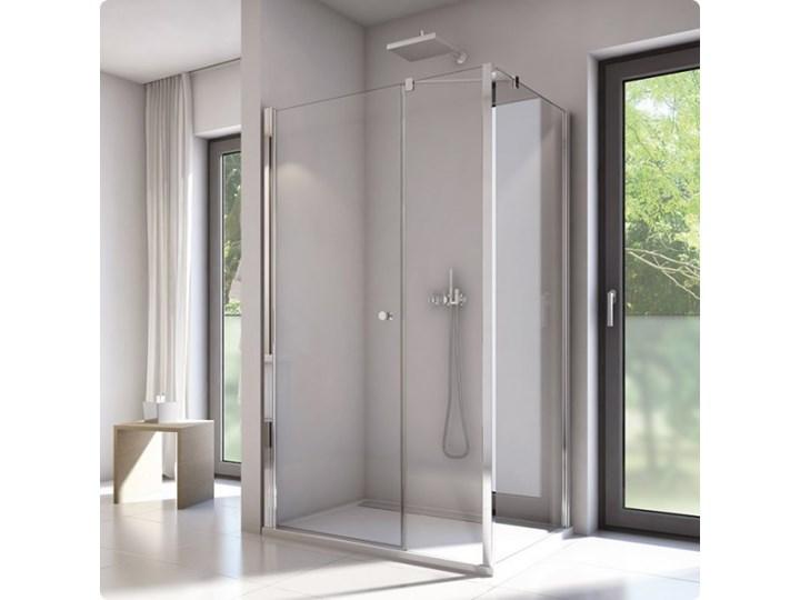 Sanswiss Solino kabina prysznicowa prostokątna 140x80 cm SOL3114005007+SOLT308005007 Przyścienna Narożna Rodzaj drzwi Uchylne