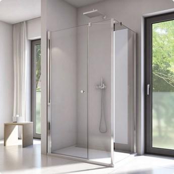 Sanswiss Solino kabina prysznicowa prostokątna 140x90 cm SOL3114005007+SOLT309005007