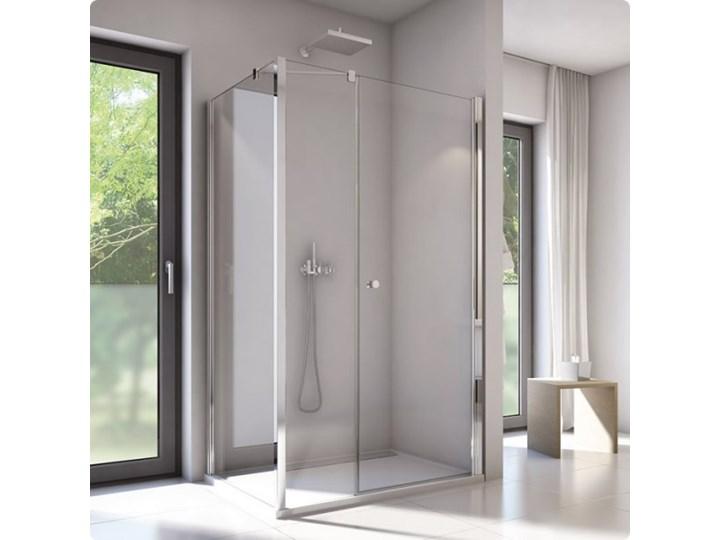 Sanswiss Solino kabina prysznicowa prostokątna 140x90 cm SOL3114005007+SOLT309005007 Przyścienna Narożna Rodzaj drzwi Uchylne