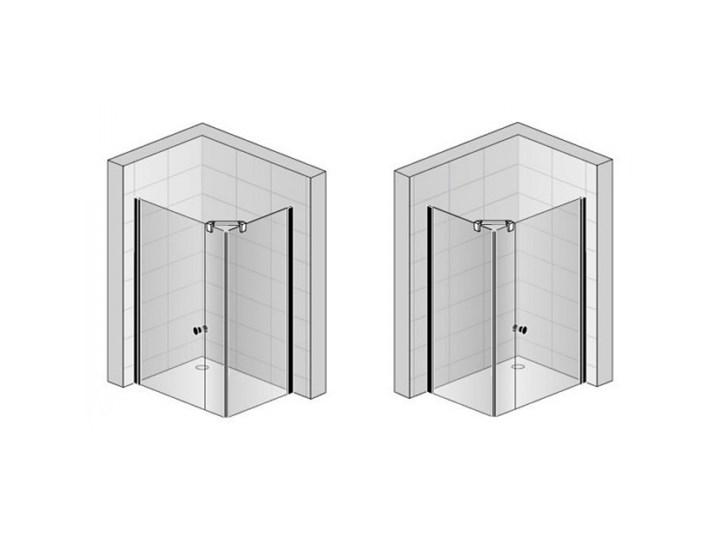 Sanswiss Solino kabina prysznicowa prostokątna 140x100 cm SOL3114005007+SOLT310005007 Przyścienna Narożna Kategoria Kabiny prysznicowe Rodzaj drzwi Uchylne