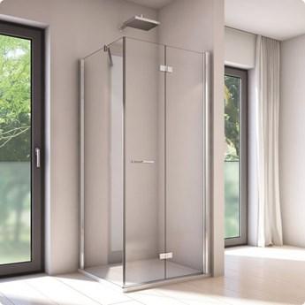 Sanswiss Solino kabina prysznicowa kwadratowa 80 cm prawa SOLF1D0805007+SOLT108005007