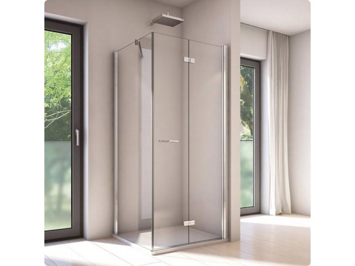 Sanswiss Solino kabina prysznicowa kwadratowa 80 cm prawa SOLF1D0805007+SOLT108005007 Przyścienna Narożna Prostokątna Kategoria Kabiny prysznicowe Rodzaj drzwi Uchylne