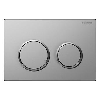 Geberit Omega 20 przycisk spłukujący chrom mat/chrom/chrom mat 115085KN1