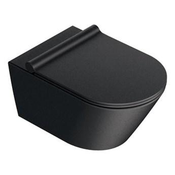 Catalano Zero miska wisząca czarny mat 1VS55NRNS