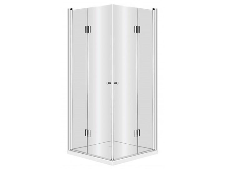 Deante Kerria kabina prysznicowa kwadratowa 80 cm KTK 042P Wysokość 200 cm Szerokość 90 cm Brodzik Bez brodzika
