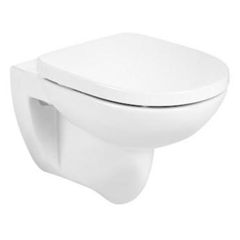 Roca Debba Round miska WC wisząca Rimless z deską WC wolnoopadającą A34H996000