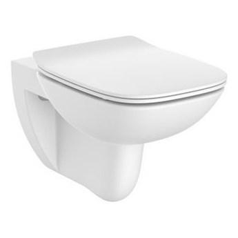Roca Debba Square miska WC wisząca Rimless z deską wolnoopadającą Slim A34H993000