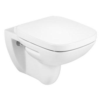 Roca Debba Square miska WC wisząca Rimless z deską wolnoopadającą A34H99L000