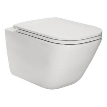 Roca Gap Square miska WC wisząca Rimless Maxi Clean A34647L00M