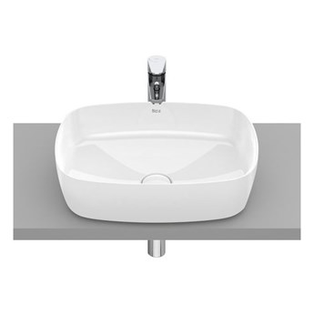 Roca Inspira Soft umywalka nablatowa 50x37 cm Maxi Clean A32750000M
