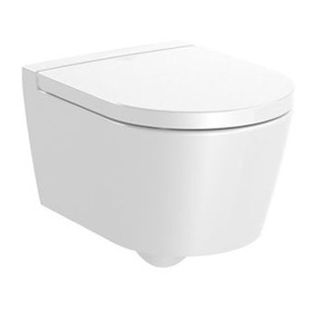 Roca Inspira Round Compacto miska WC wisząca Rimless Maxi Clean A34652800M