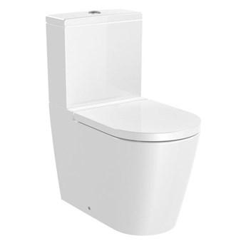 Roca Inspira Round miska WC do kompaktu Rimless A342526000
