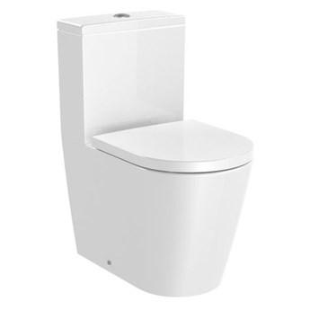 Roca Inspira Round Compacto miska WC do kompaktu Rimless A342529000