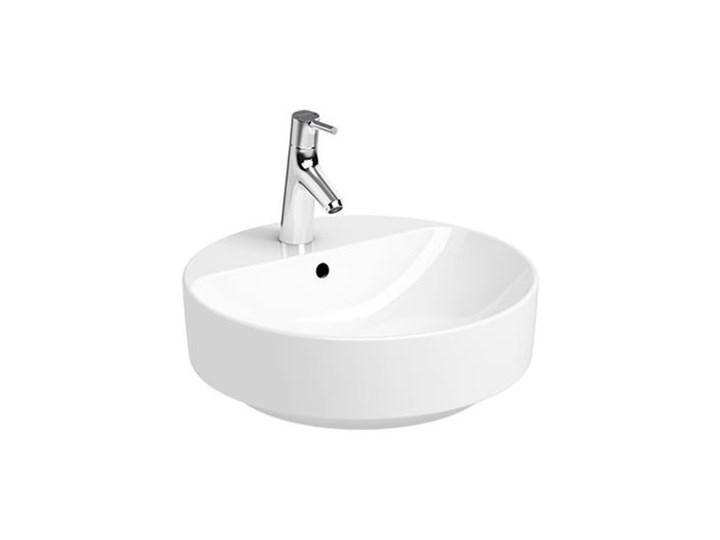 Koło Variform umywalka nablatowa śr. 45 cm 500.769.01.6 Okrągłe Nablatowe Kategoria Umywalki Kolor Biały