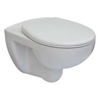 Roca Victoria miska WC wisząca Rimless z deską WC wolnoopadającą A34H394000