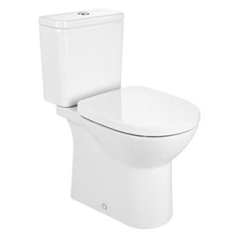 Roca Debba Round miska WC do kompaktu Rimless A34299P000