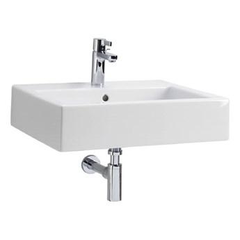 Koło Twins umywalka z misą prostokątną 60 cm z powłoką Reflex L51160900
