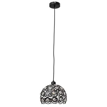 Lampa wisząca glamour BLANCA W-HY 1104-1L-BK