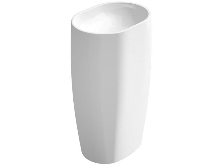 VELDMAN MONOLITYCZNA UMYWALKA LISA Kategoria Umywalki Owalne Konglomerat Wolnostojące Kolor Biały