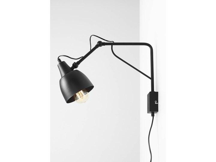 Metalowy kinkiet Spider Short z wtyczką do gniazdka Biały Lampa LED Stal Lampa pająk Żyrandol Kolor Czarny