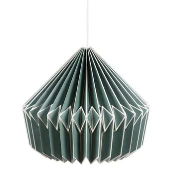 Lampa Origami zielona