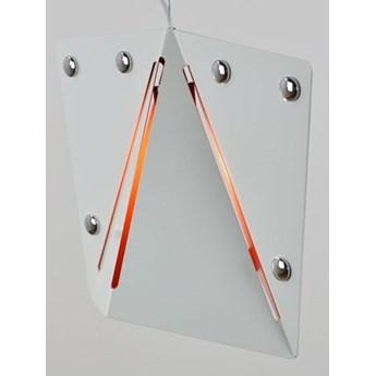 MCODO ::  Lampa wisząca Kirigami white-orange