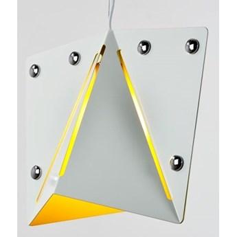 MCODO ::  Lampa wisząca Kirigami white-yellow