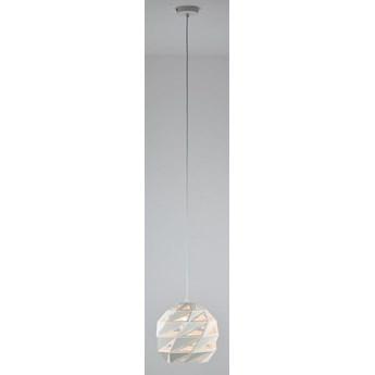 MCODO ::  Ażurowa biała lampa wisząca Bianca  30cm