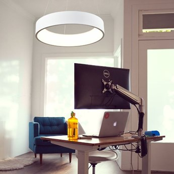 MCODO ::  Designerska lampa  Cosmo rp 36W technologia Led Ring 60cm barwa ciepła 3000K