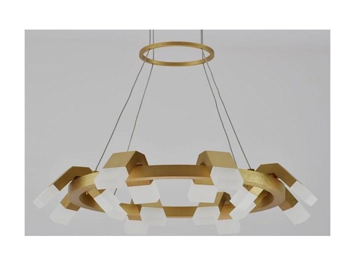 MCODO ::  Oryginalny żyrandol led Amira o mocy 60W z ciepłą barwą 3000K Tworzywo sztuczne Lampa inspirowana Kolor Brązowy