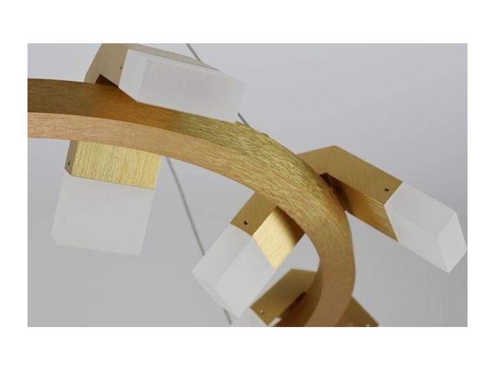 MCODO ::  Oryginalny żyrandol led Amira o mocy 60W z ciepłą barwą 3000K Pomieszczenie Sypialnia Tworzywo sztuczne Lampa inspirowana Kategoria Lampy wiszące